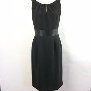 Ann Taylor Tuxedo Dress Career Work Party size 4
